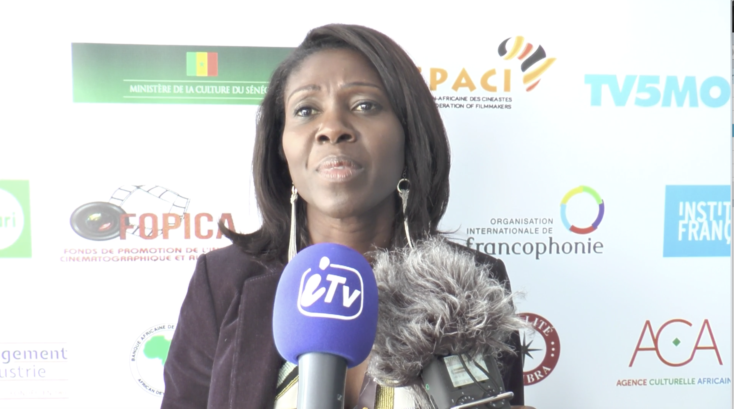 VIDEO - AMINATA DIOP JOHNSON : « VALORISER L'INDUSTRIE CULTURELLE AFRICAINE »